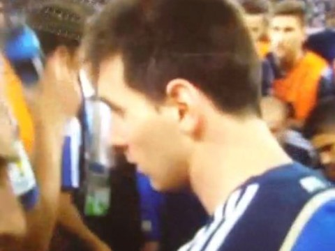Lionel Messi walked AWAY from Argentina team talk ahead of extra-time against Germany