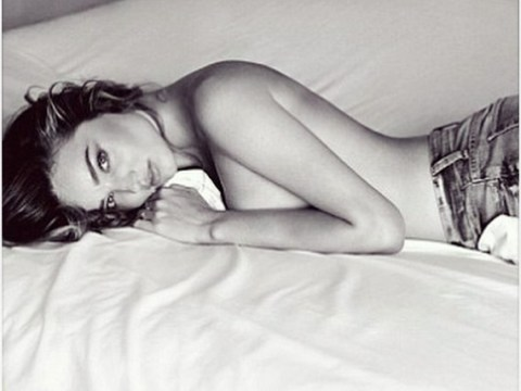 Orlando Bloom 'punches' Justin Bieber, the internet melts down, Miranda Kerr responds by going topless!