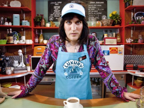 Noel Fielding: Luxury Comedy series one was 'a sort of frantic, psychedelic panic attack, with charm'