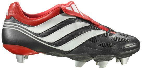 black football boots