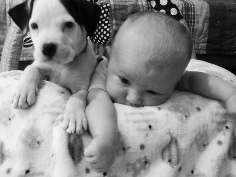 Instagram stars Baby Eisleigh and puppy Clyde are the absolute best of friends, and these pics prove it