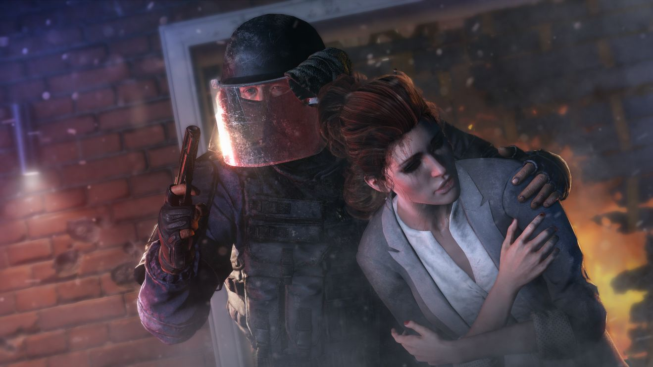 Rainbow Six Siege - there will be male hostages as well