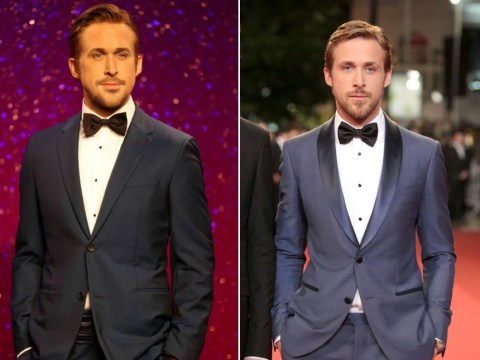 Madame Tussauds unveils its new Ryan Gosling wax figure and it's unsurprisingly really hot