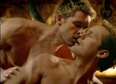 You'll never guess who's getting it on in True Blood's latest hot gay sex scene…