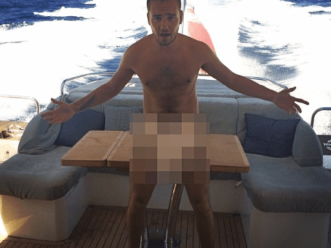 What was Liam Payne hiding in THAT naked selfie?