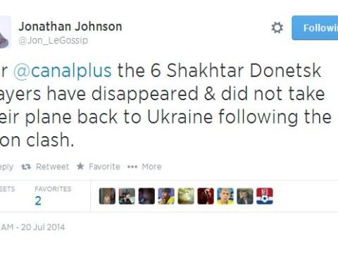 Bizarre! Six Shakhtar Donetsk players go missing after pre-season friendly
