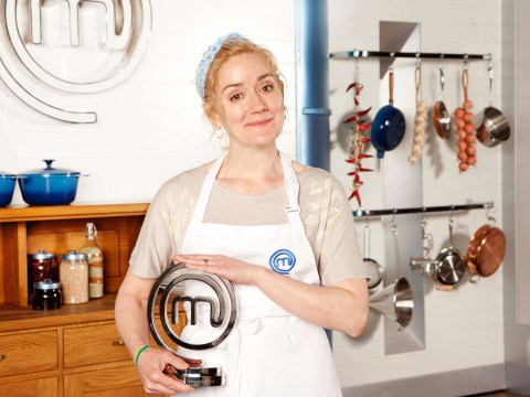 Sophie Thompson won Celebrity Masterchef 2014 and she can't quite believe it