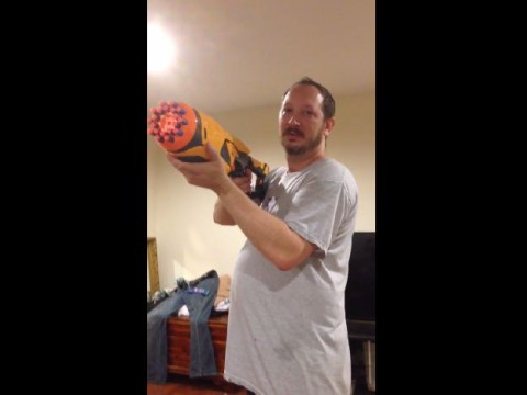 'Vertical videos are a sin': Husband tells off wife for fliming video of his new Nerf gun vertically
