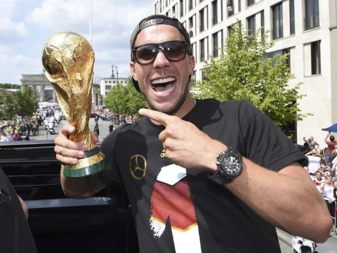 Lukas Podolski's Arsenal exit in doubt as Juventus eye Bayern Munich's Xherdan Shaqiri
