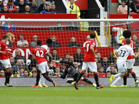 Swansea City prove they have substance to go with their style in victory over Manchester United