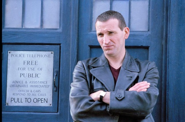 Christopher Eccleston quit after just one series (Picture: BBC)