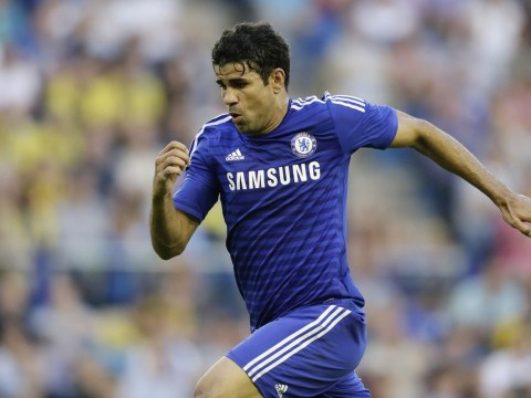 Chelsea's Diego Costa scores two goals in seven minutes on Stamford Bridge debut