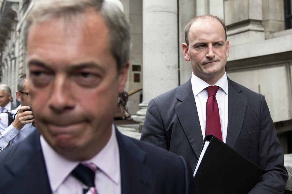 Ukip defection: Is Douglas Carswell going to steal Nigel Farage's thunder?