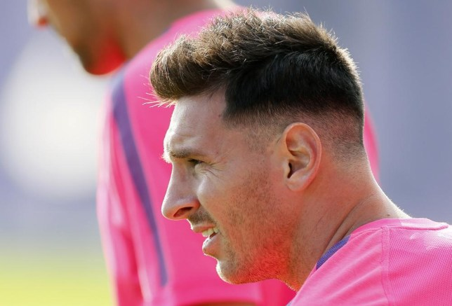 Lionel Messi Haircut Barcelona Star Returns To Training With