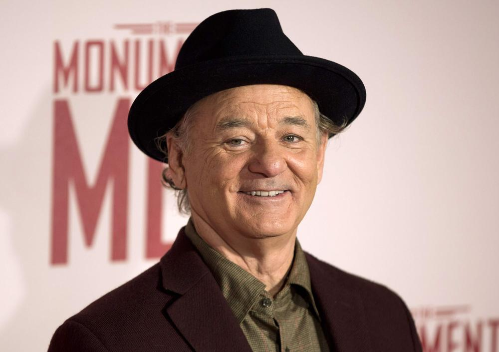 Bill Murray has to shell out for some new phones after he threw three fans' mobiles off a roof