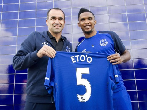 Samuel Eto'o could prove to be inspired signing for Everton