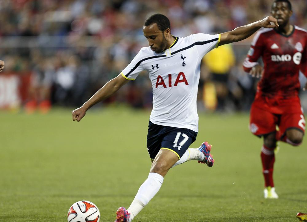 Queens Park Rangers target £10m move for Tottenham's Andros Townsend