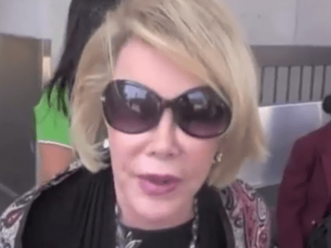 Joan Rivers says Palestinians 'deserve to be dead' in aggressive Gaza rant caught on camera
