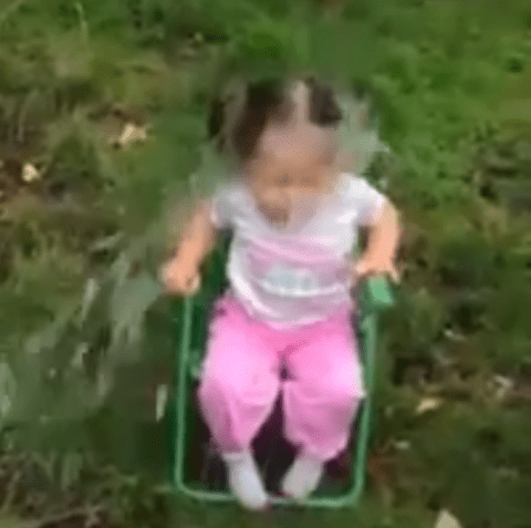 Two-year-old completes the ice bucket challenge, displays shocking vocabulary