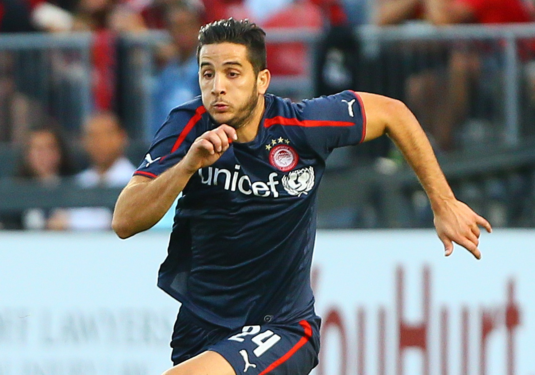 Arsenal open transfer talks with Olympiakos over £8million Kostas Manolas