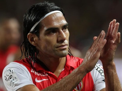 Radamel Falcao and Monaco arrive for Nantes clash in taxis