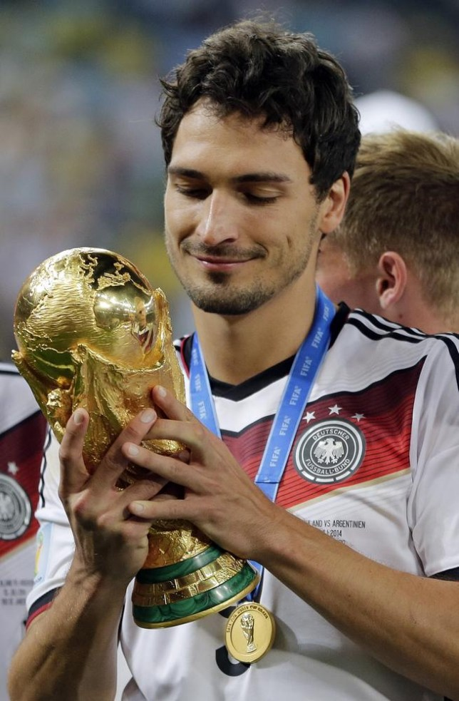 Borussia Dortmund defenderMats Hummels won the World Cup with Germany this summer (Picture: AP)