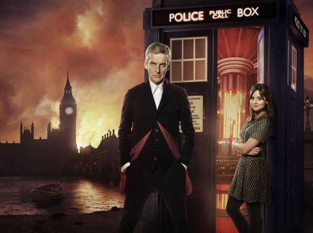 Doctor Who: Peter Capaldi and Jenna Coleman star in Deep Breath