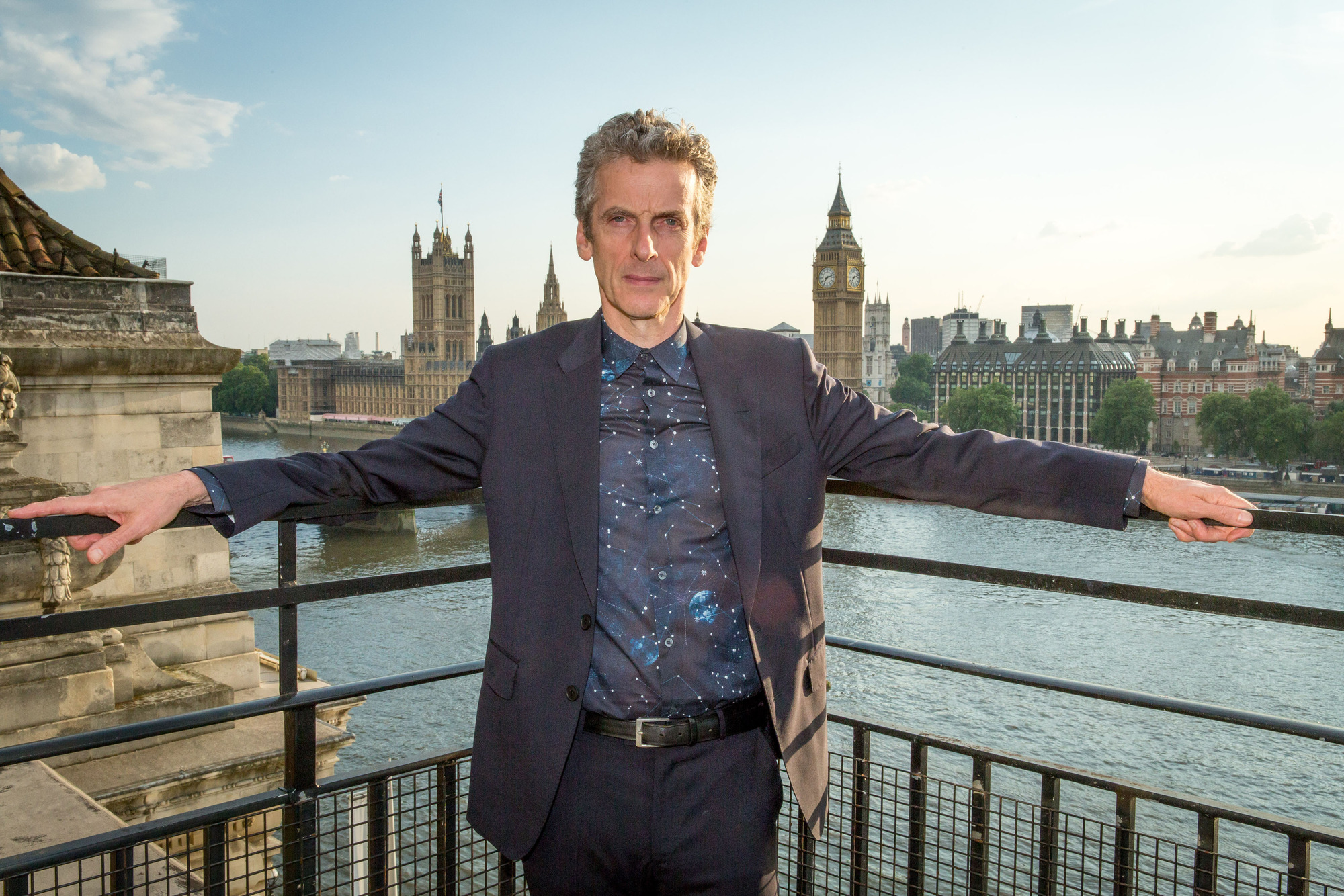 Doctor Who: Peter Capaldi at the London premiere of Deep Breath