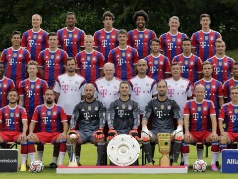 Have you seen the sneaky trick Dante and Jerome Boateng pulled off to look buff in the Bayern Munich team pic?