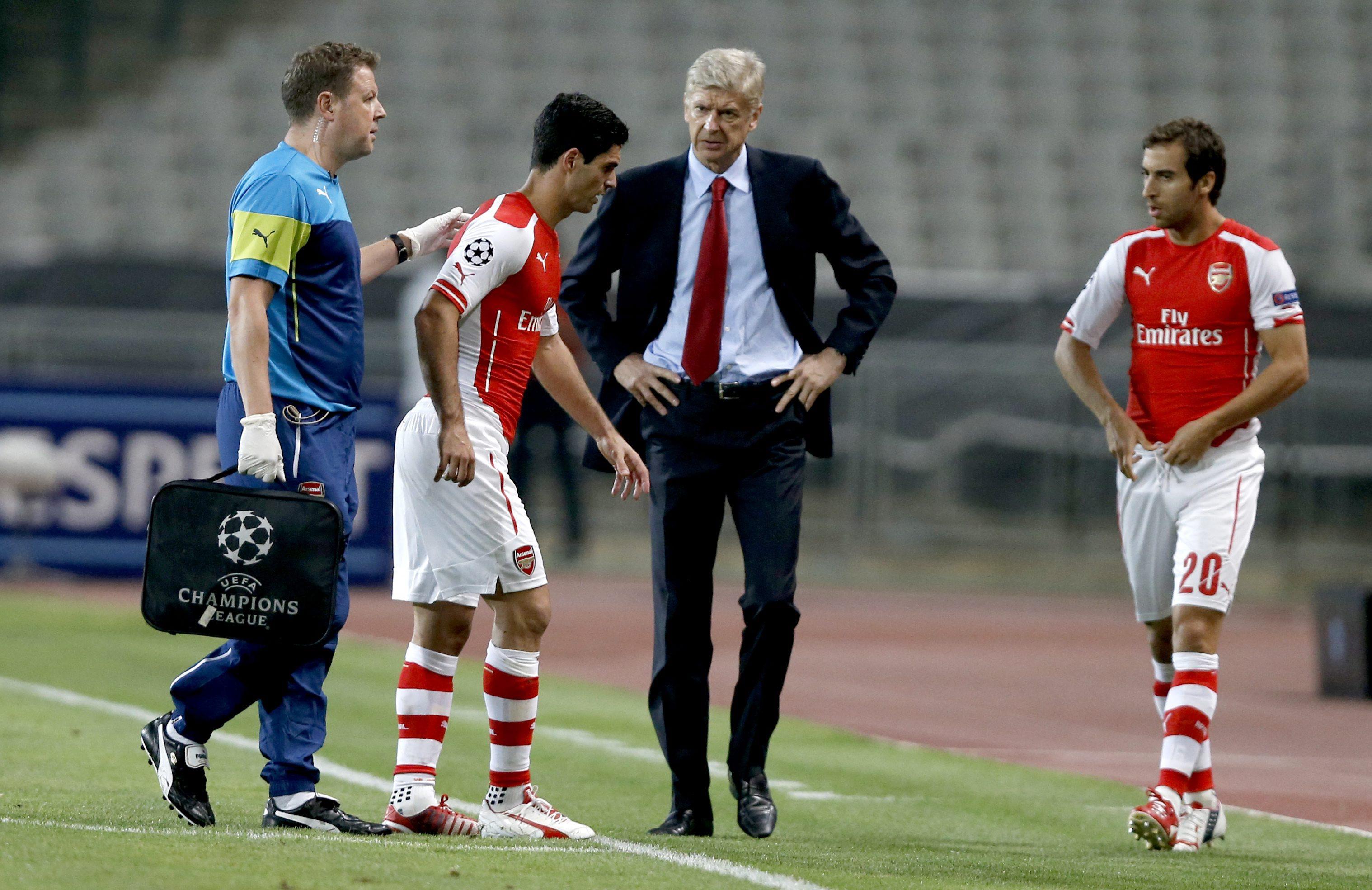 Besiktas Istanbul vs Arsenal