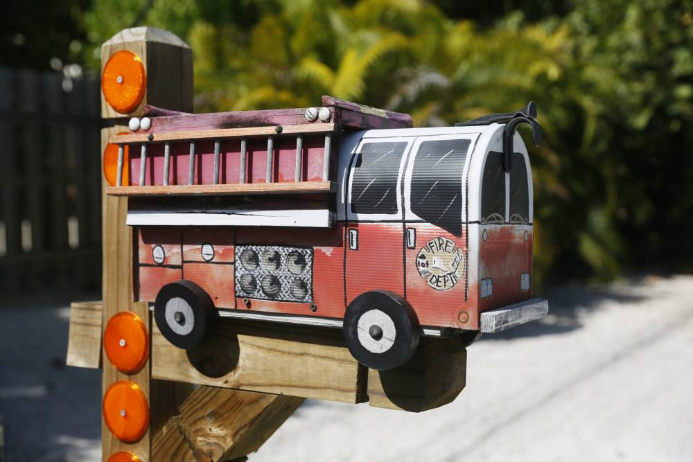 Quirky letter boxes of Florida Keys