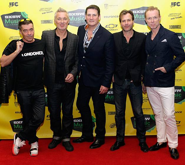 Spandau Ballet are back! 80s heart-throbs recording first new album in 25 years