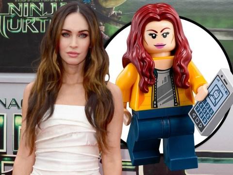 It's Teenage Mutant Ninja Turtles star Megan Fox in Lego form