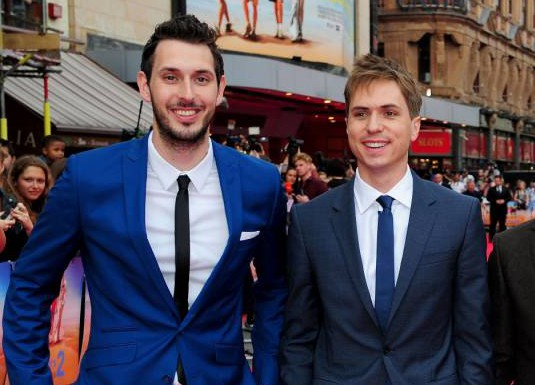 Blake Harrison and Joe Thomas both sick after Inbetweeners-style meat eating challenge
