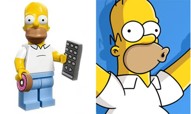 Here's what your favourite film and TV shows look like when placed next to their Lego equivalents