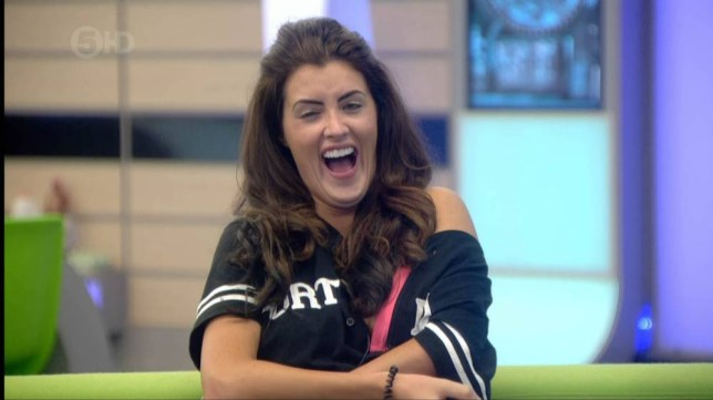 Helen Wood to win Big Brother 2014 (Picture: Channel 5)