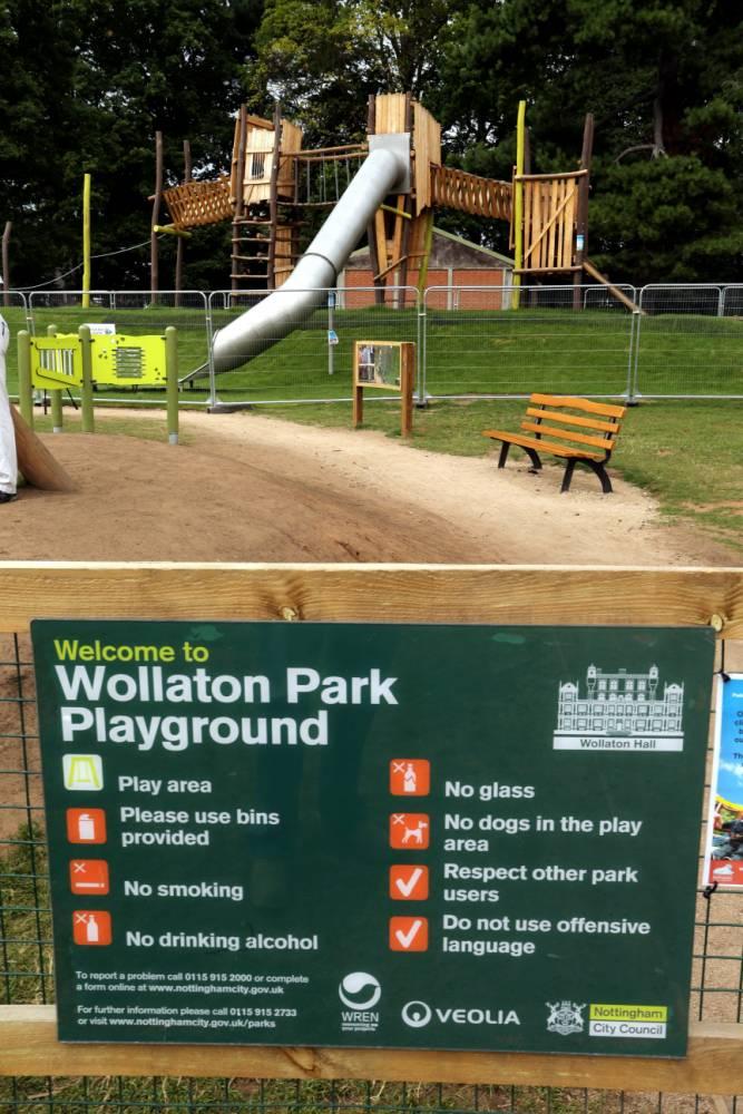 Slide too fast, Nottingham