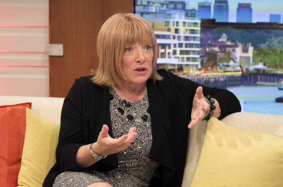 Editorial Use Only. No merchandising.. Mandatory Credit: Photo by Ken McKay/ITV/REX (4076256bc).. Kellie Maloney.. 'Good Morning Britain' TV Programme, London, Britain - 13 Aug 2014.. KELLIE MALONEY  Boxing legend Frank Maloney gives his first TV interview since revealing he is undergoing a sex change and now lives as a woman called Kellie...