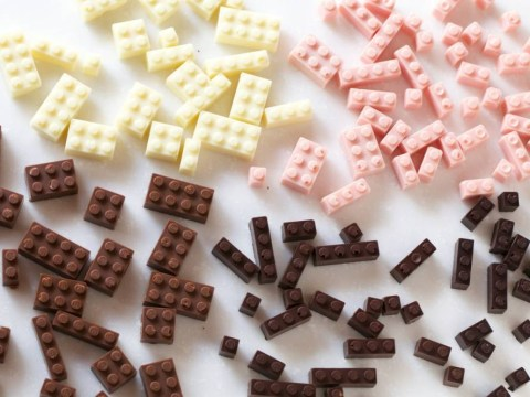 These pictures of edible chocolate LEGO will make you so proud of the world we live in