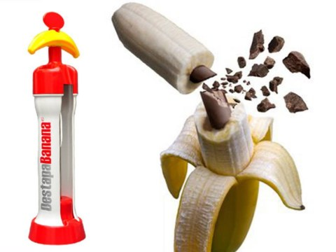 Destapabanana will fulfil all your fruit-based fantasies – it inserts liquid caramel and chocolate into your banana