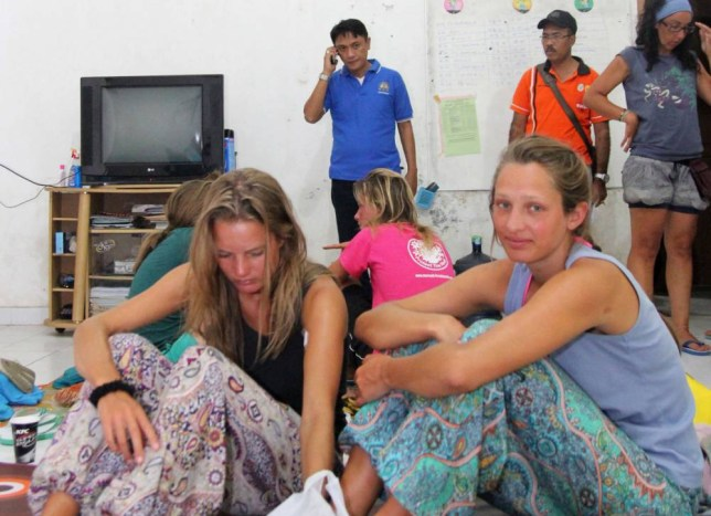 Survivors rescued after a tourist boat sank rest at a house near to the Indonesian town of Bima on August 17, 2014. Ten foreign tourists and five Indonesians were missing on August 17, 2014 after a boat sank between islands in the east of the country, while 10 others had been rescued, search and rescue officials said. Ten foreign tourists and five Indonesians were missing on August 17, 2014 after a boat sank between islands in the east of the country, while 10 others had been rescued, search and rescue officials said. The vessel hit a reef and went down on August 16, 2014 en route from Lombok island to Komodo island, the home of the Komodo dragon -- the world's biggest lizard and a draw for tourists. Those rescued were from New Zealand, Britain, Spain, the Netherlands, Germany and France, said Budiawan, a search and rescue official who like many Indonesians goes by one name.  AFP PHOTO / ANDY AMALDANANDY AMALDAN/AFP/Getty Images