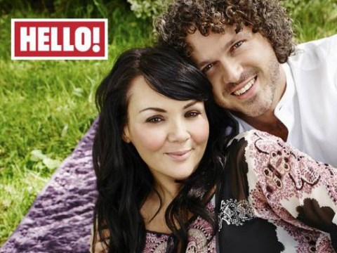 Guys, Martine McCutcheon is pregnant, isn't that lovely?