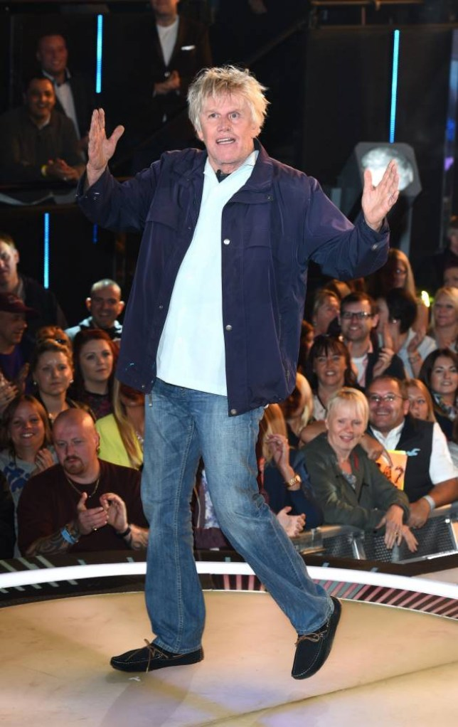 Gary Busey arriving to enter the Celebrity Big Brother house at Elstree Studios, Borehamwood, at the start of the latest series of the Channel 5 programme. PRESS ASSOCIATION Photo. Picture date: Monday August 18, 2014. See PA story SHOWBIZ Brother. Photo credit should read: Ian West/PA Wire