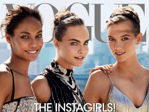 Forget the supermodels, now it's all about Instagirls Cara Delevingine, Karlie Kloss and Joan Smalls