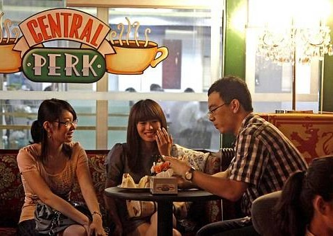 Friends 20th anniversary: You can still visit the Central Perk coffee shop
