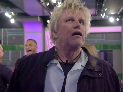 Psychic Gary Busey actually spoke to Patrick Swayze's ghost days before entering Celebrity Big Brother house