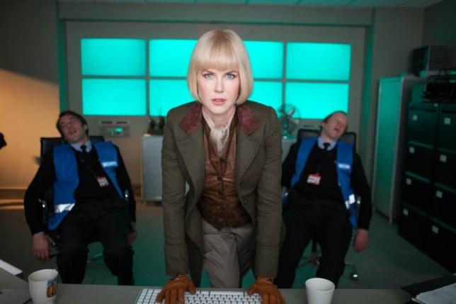Nicole Kidman as Millicent Clyde in the Paddington movie
