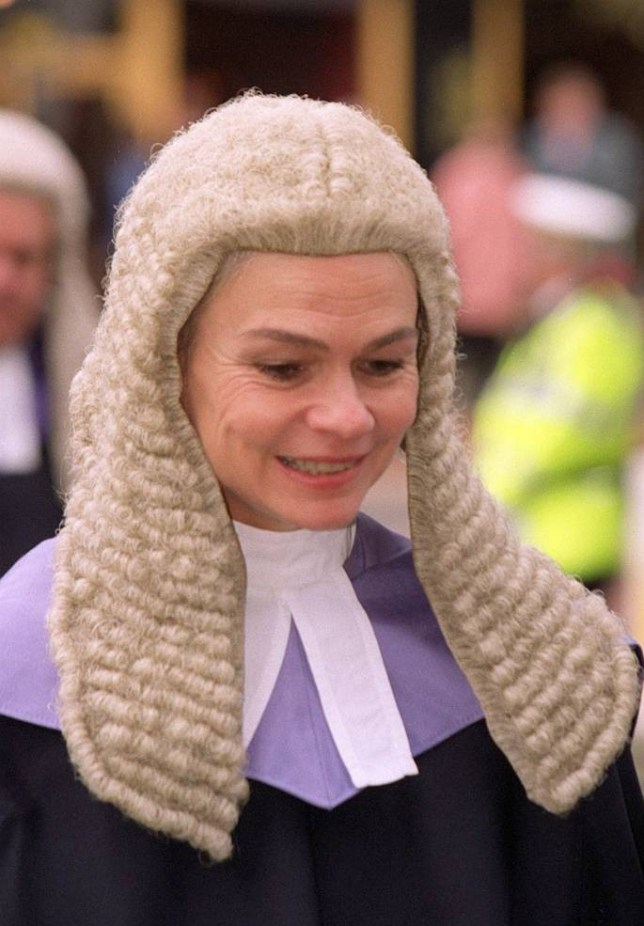 INS News Agency Ltd..26/08/2014 Judge Mary Jane Mowat who has criticised women rape victims for getting drunk and being unable to recall what happened to them. She made her comments during a retirement interview. See copy INSmary.