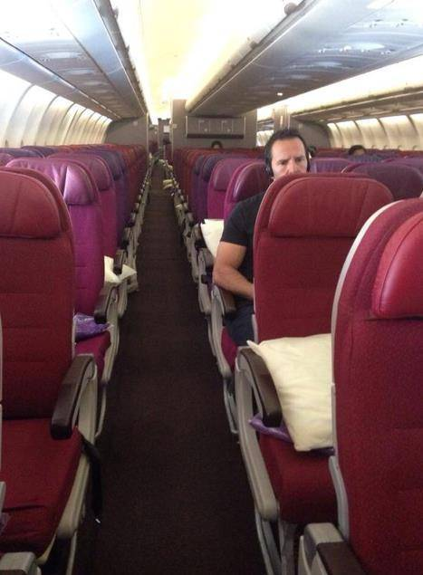 There are currently a lot of empty seats on Malaysia Airlines flights