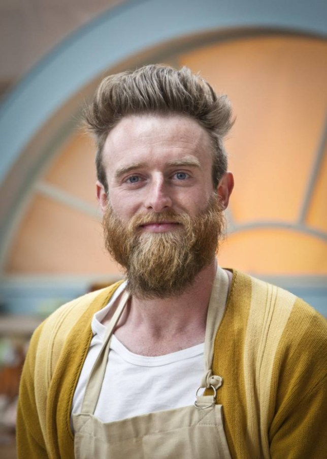 Great British Bake Off Iain Watters (Picture: BBC)